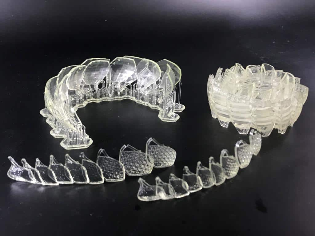 3D Printing Transparent Clear Resin in Dubai, UAE