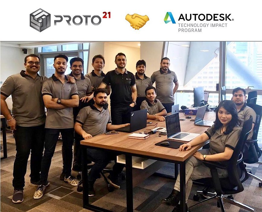 Proto21 is now officially a member of the Autodesk Technology Impact Program